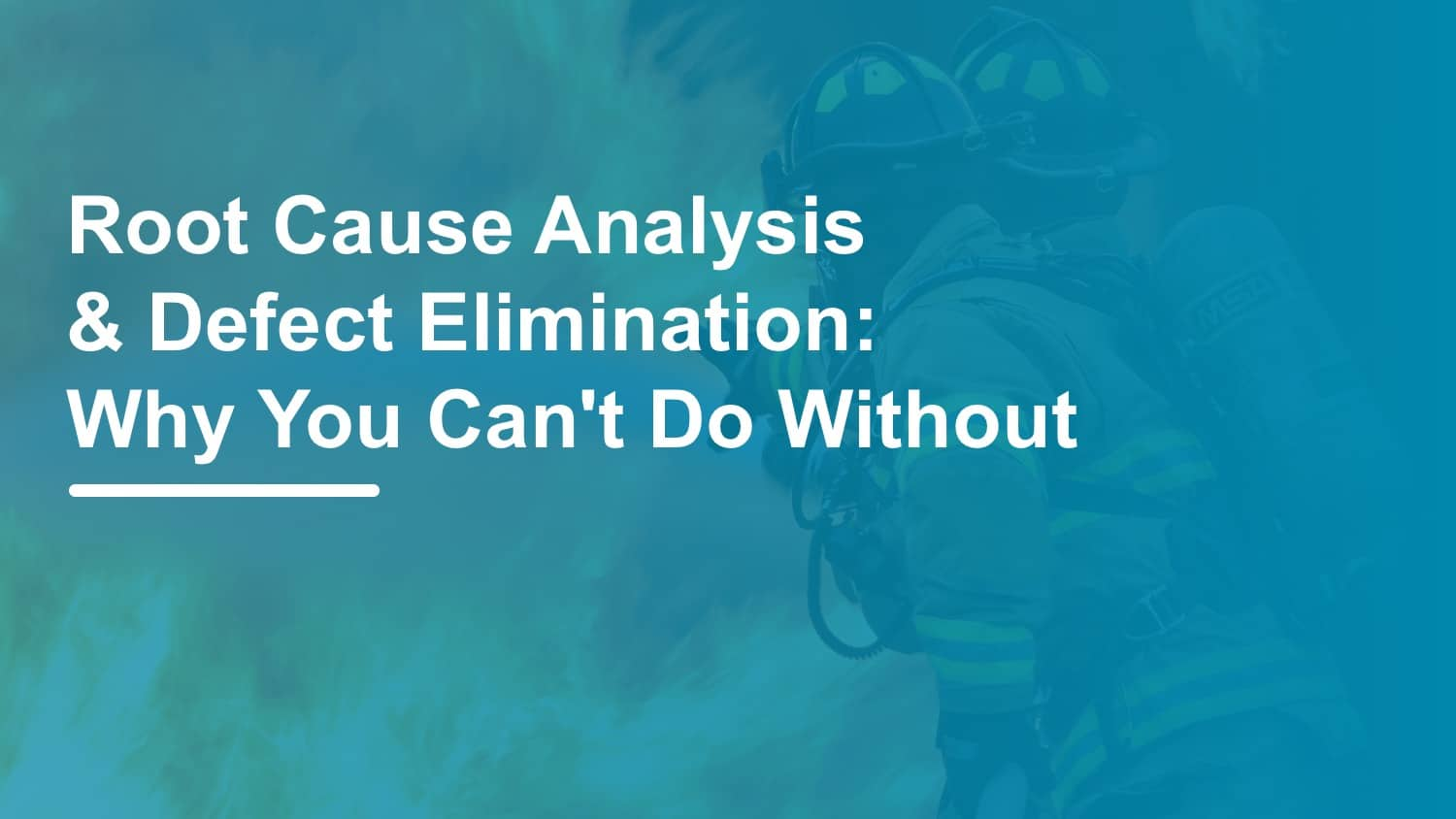 why defect elimination